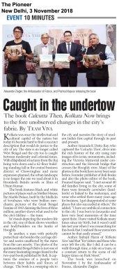 Calcutta Then, Kolkata Now, The Pioneer, New Delhi, Nov0318 (1)