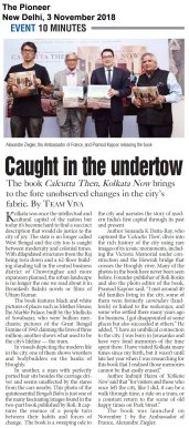 Calcutta Then, Kolkata Now, The Pioneer, New Delhi, Nov0318 (1)