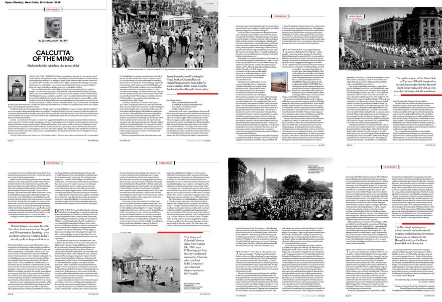 Calcutta Then, Open (Weekly), New Delhi, Oct1518-1 copy